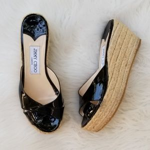 Jimmy Choo | Espadrilles Wedge Sandals